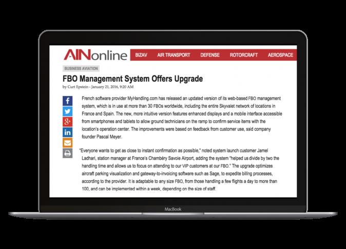 FBO Management System